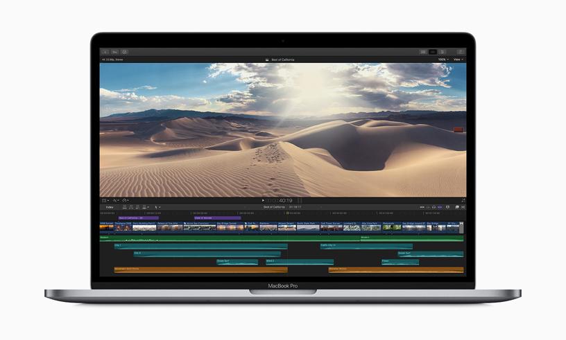 Apple lanza el nuevo MacBook Pro de 8 núcleos y 15 pulgadas con teclado mejorado