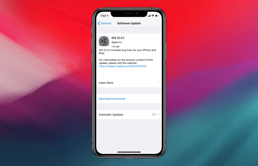 iOS 12 3 1 Released With Minor Bug Fixes [IPSW Links] - iOS Hacker