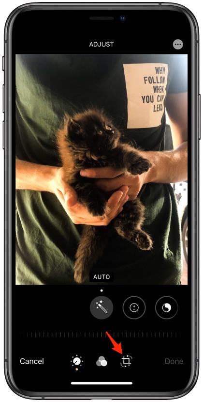 Flip photos on iOS 13