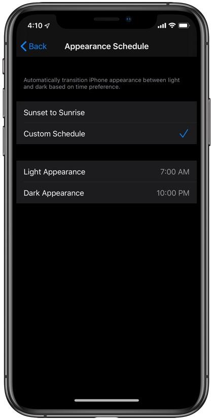Disable dark mode iOS 13
