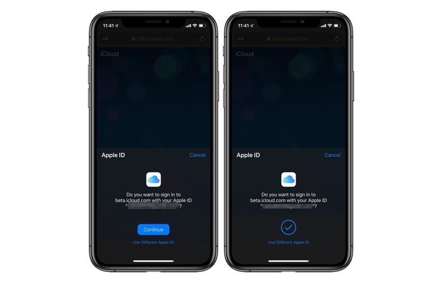 Apple To Allow iCloud com Sign In With Face ID And Touch ID - iOS Hacker