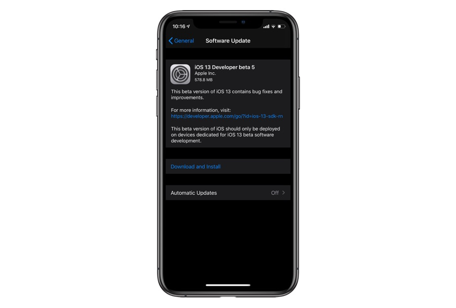 iOS 13 Developer Beta 5 Is Now Available - iOS Hacker
