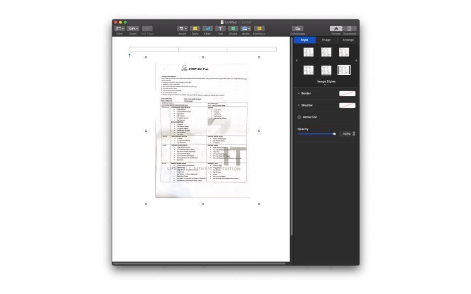 Scan Mac document through iPhone