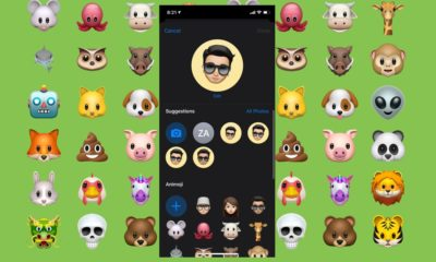 Message Animoji display feat2