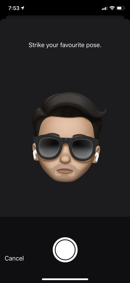 iMessage Animoji Display picture