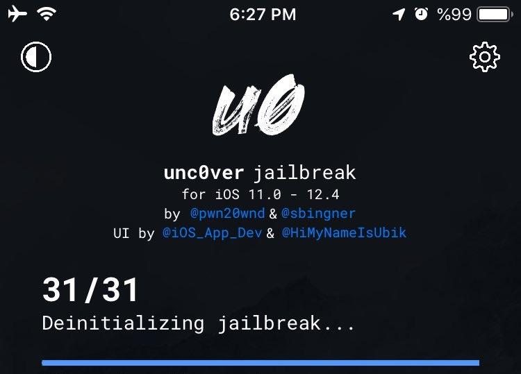 iOS 12.4 Jailbreak unc0ver