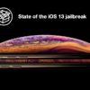 iOS 13 jailbreak status