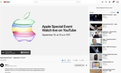 Apple iPhone 11 event youtube
