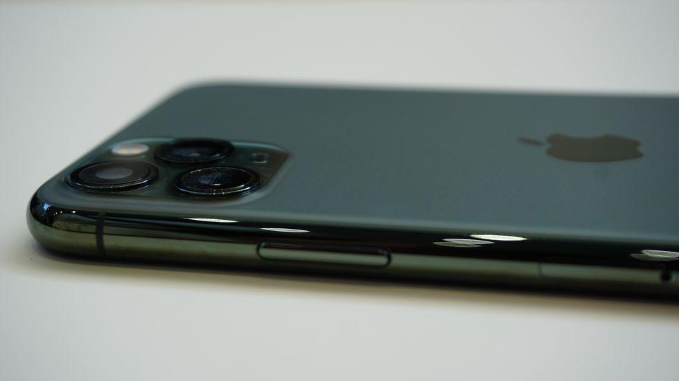 Green iphone pro 1