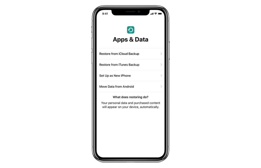 Restore iCloud Backup iPhone