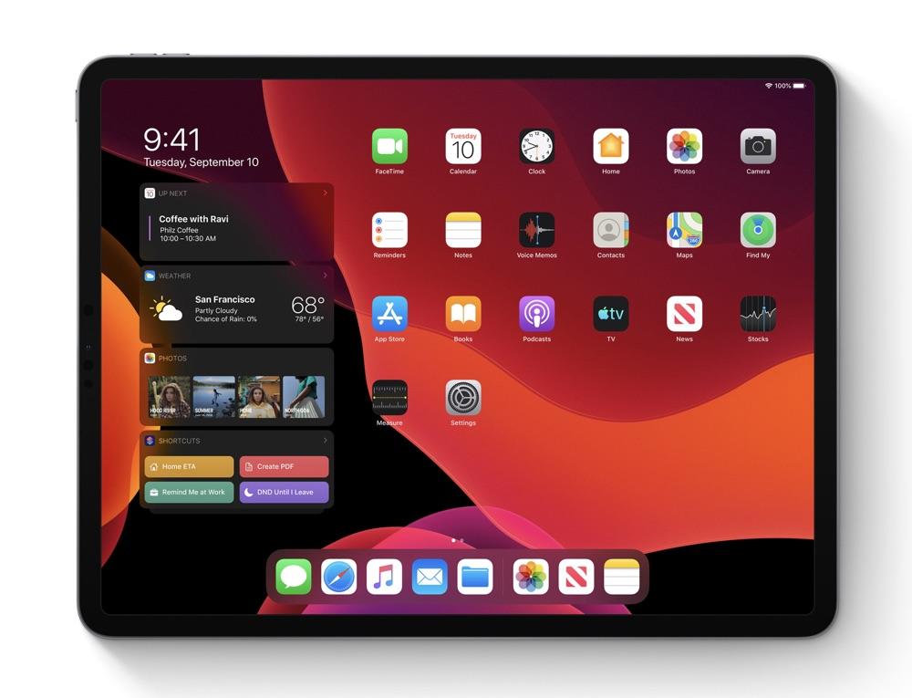iPadOS 13 main