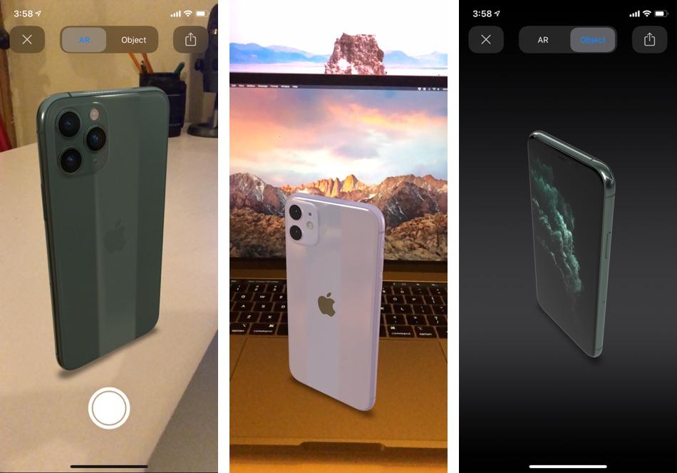 iPhone 11 AR experience