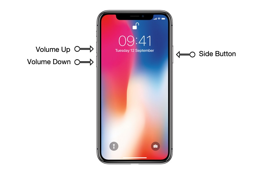Turn off iPhone 11 Pro