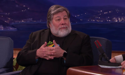 Steve Wozniak wearing Apple Watch