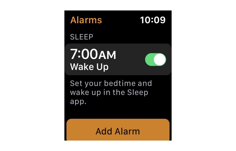 Alarm Sleep App Watch