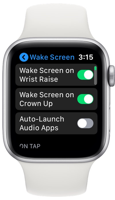 Apple Watch Disable Music Controls