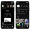 Enable dark mode instagram iPhone