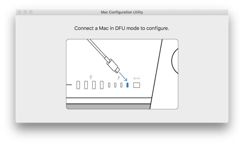 Mac Configuration Utility app