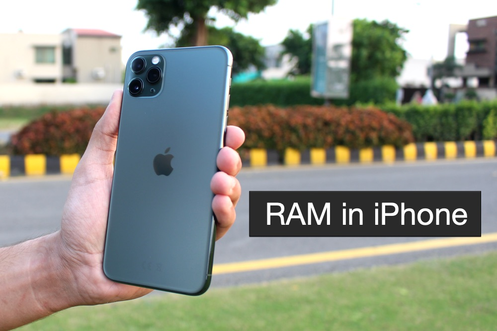 How much RAM in iPhone