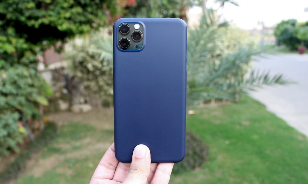 Totallee Thin Blue Case iPhone 11 Pro Max