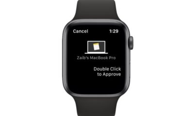 Unlock Mac Apps with Apple Watch 1