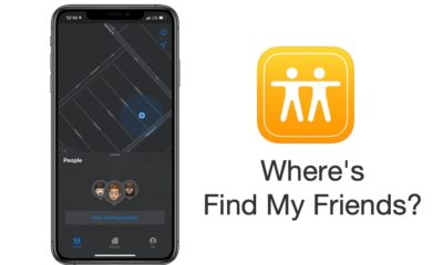 Where's Find My Friends iOS 13