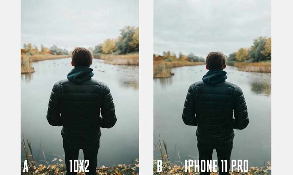 iPhone 11 Pro vs DSLR