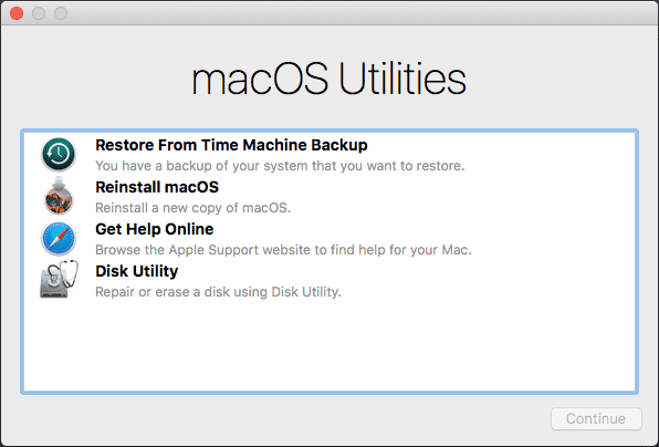 Reformat MacBook Pro