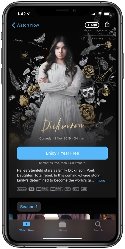 Apple TV+ Free Subscription