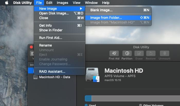 Lock a folder on Mac