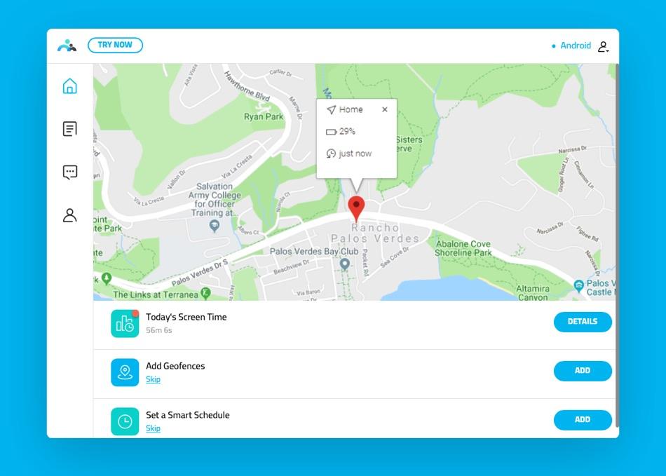 FamiSafe Location Tracking