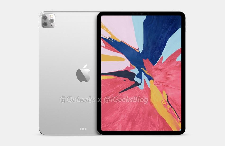 iPad Pro 2020 renders