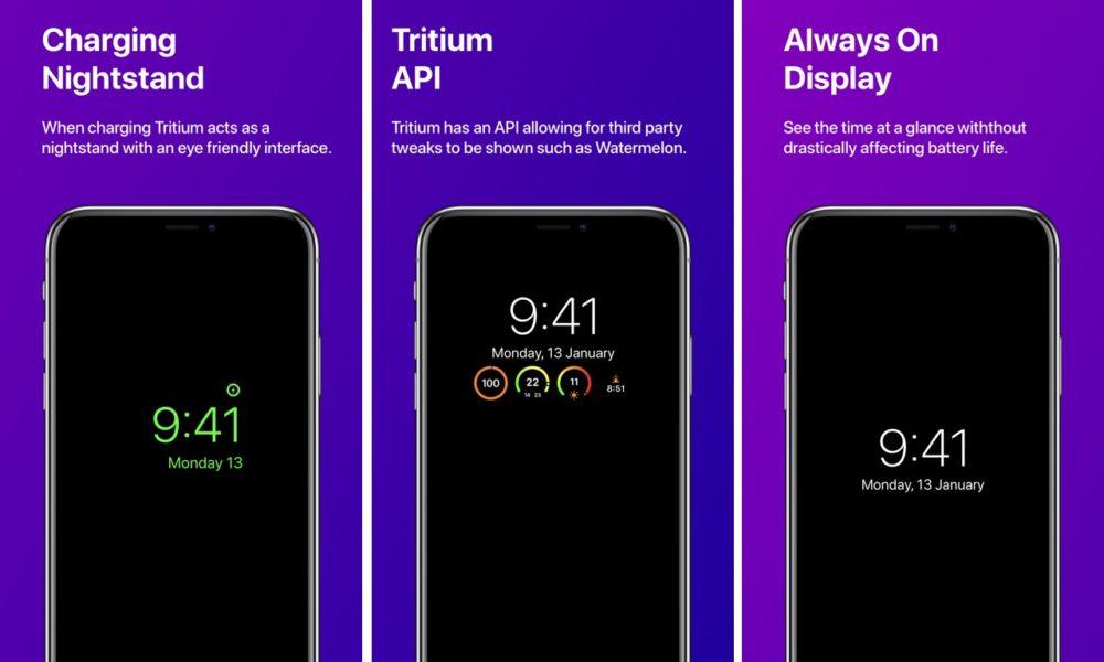 Tritium tweak