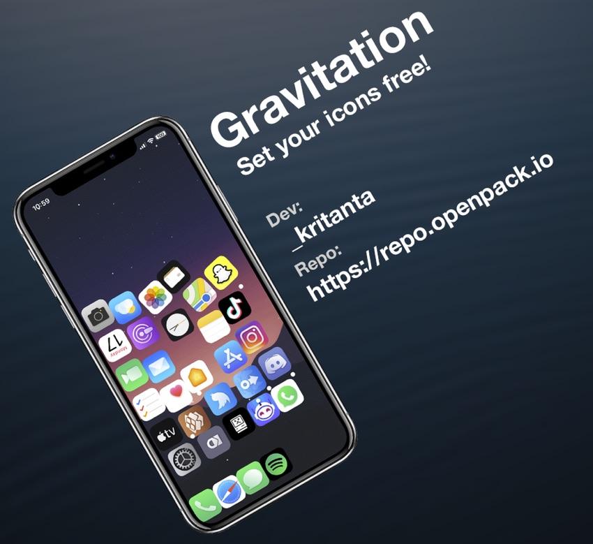 Gravitation tweak