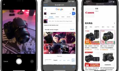 Reverse image search iPhone shortcut