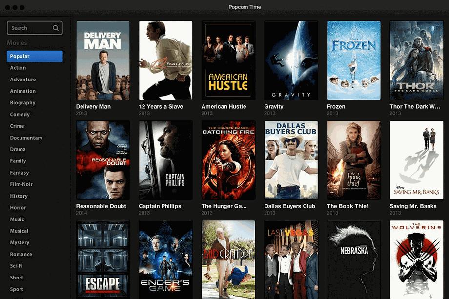 Download Popcorn Time Mac