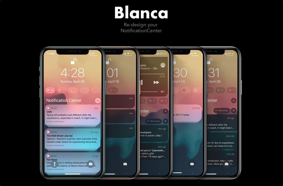 Blanca tweak