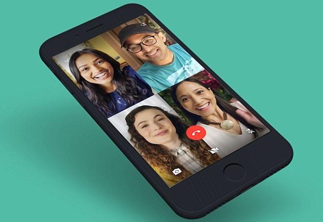 WhatsApp video chat