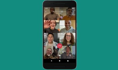 WhatsApp video call 8 people