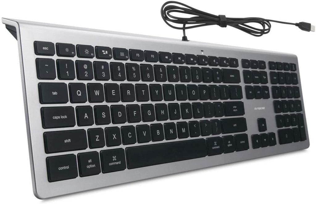 BFRIENDit Wired USB Mac Keyboard
