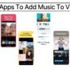 Apps To Add Music To Videos 2