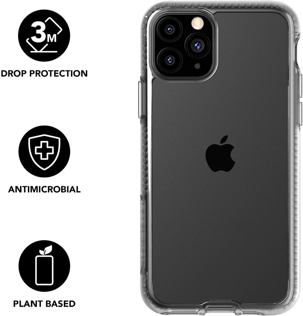 Tech21 Pure Clear Germ Fighting Case iPhone 11 Pro