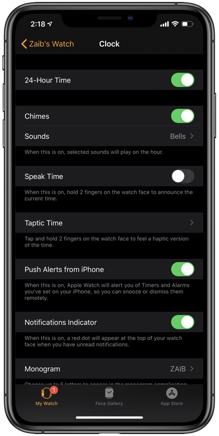 Enable Military Time on Apple Watch