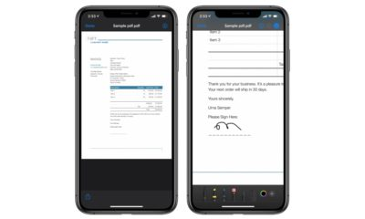Sign PDF on iPhone or iPad