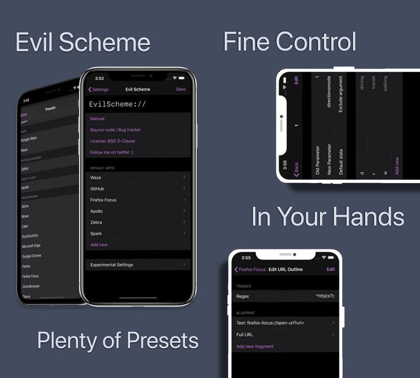 Evil Scheme tweak