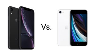 Refurbished iPhone SE 2020 vs iPhone XR