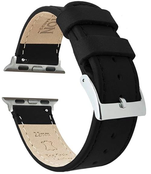 Barton Top Grain Leather Watch Band
