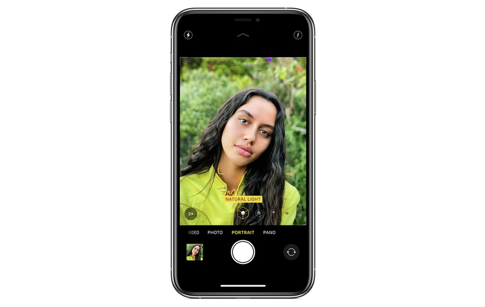 Mirror Front Camera feature