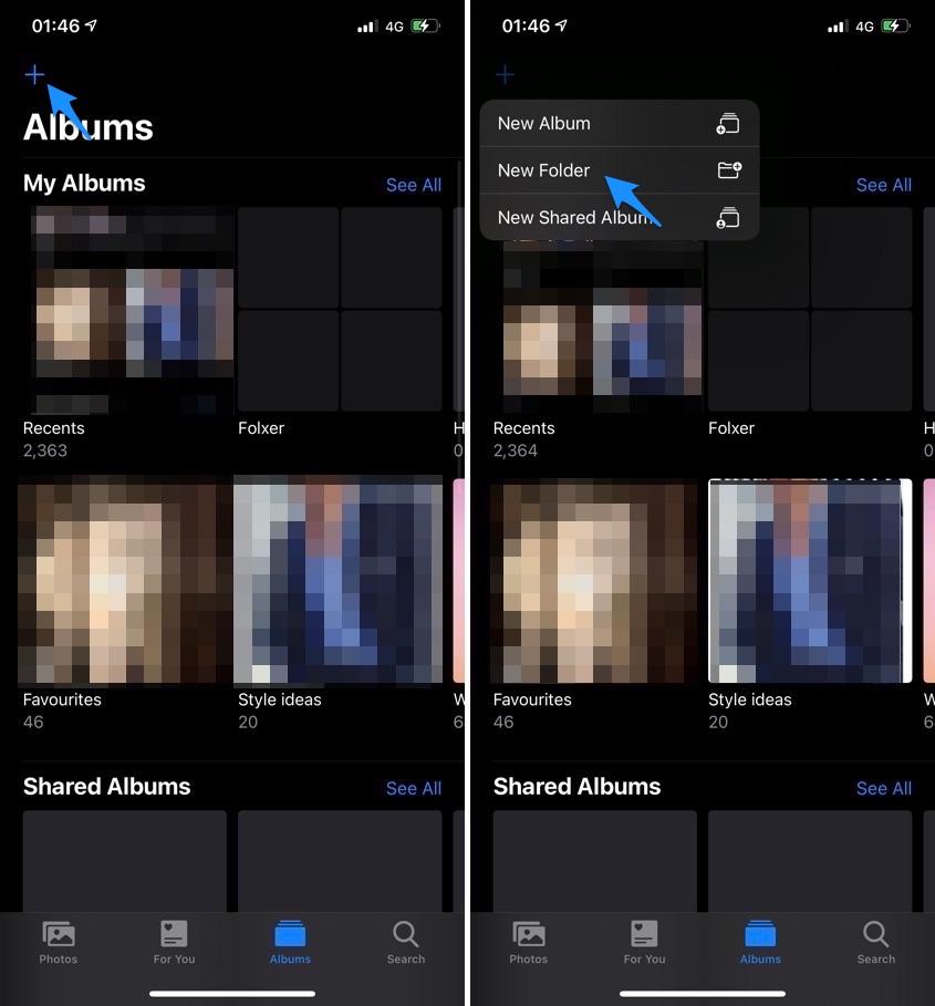 Photos app add folder