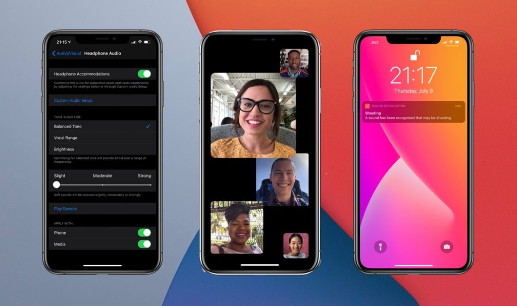 iOS 14 Accessibility features